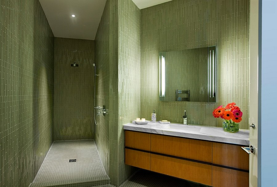 Hollywood-Regency-style-bathroom-with-exquisite-use-of-green-tile