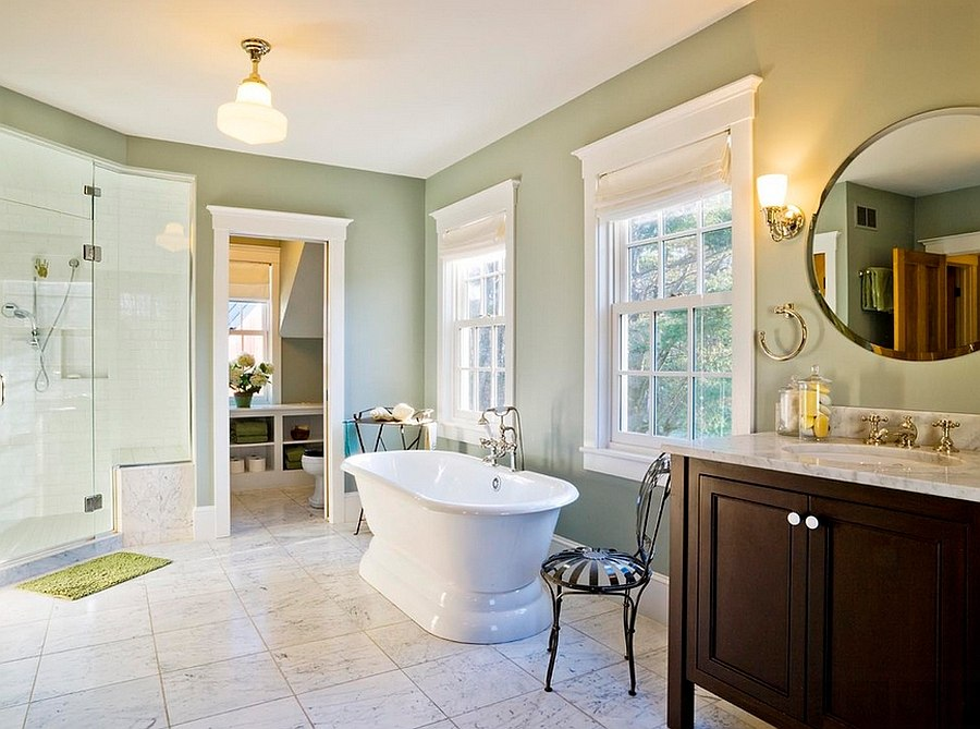 Gorgeous-master-suite-in-a-pleasant-green-hue