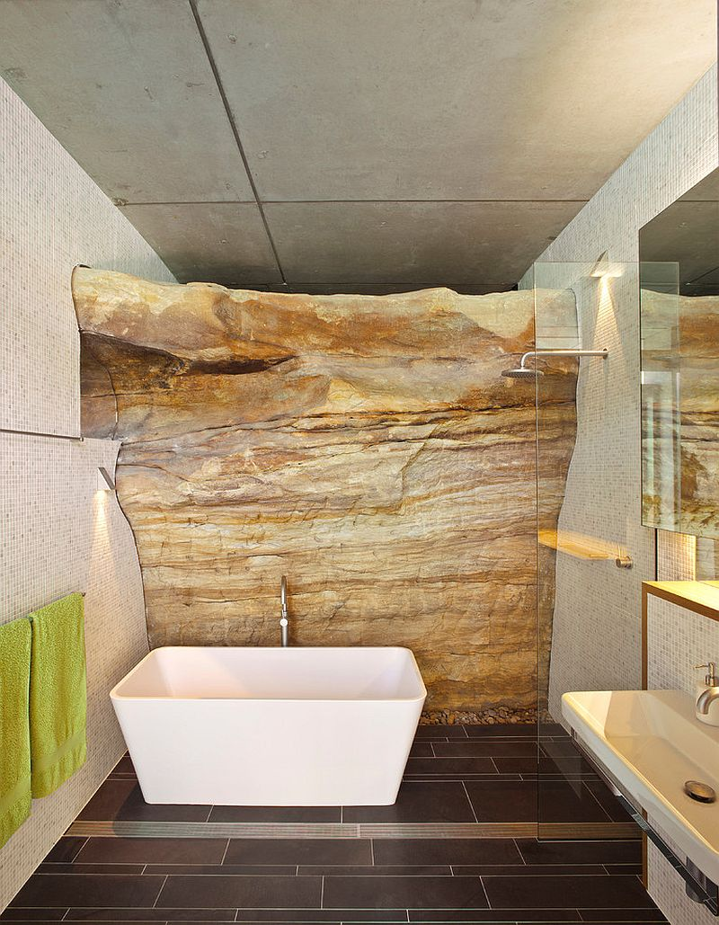 Exposed-rock-wall-beats-the-traditional-use-of-stones-and-tiles